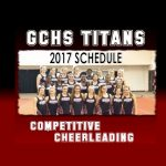 COMPETITION CHEER SCHEDULE ~ GO SEE THEM!!!!
