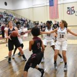 The Lady Titans were edged out by the Panthers