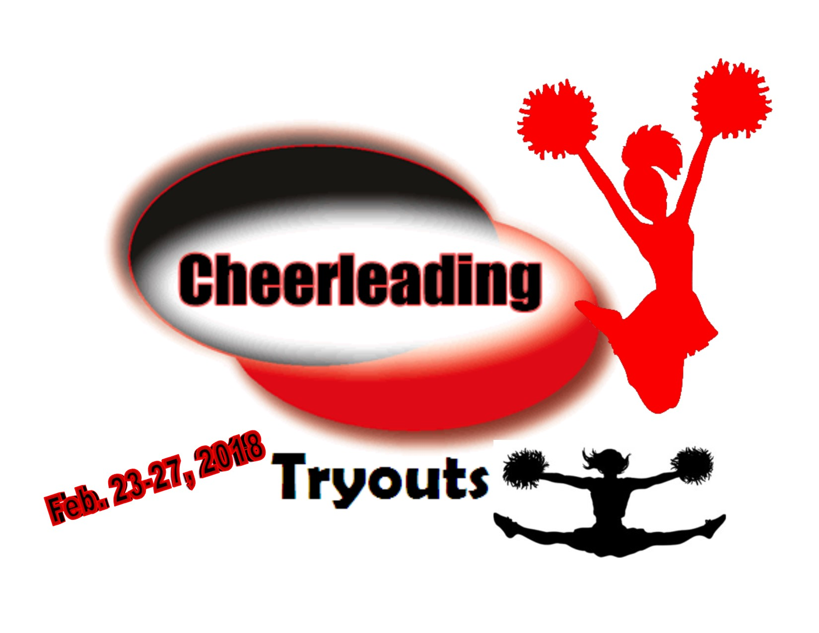 CHEER TRYOUT DATES ANNOUNCED for 2018-19 school year