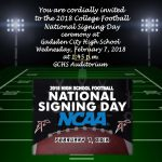 WHERE ARE THEY GOING????  FEBRUARY 7, 2018 IS NATIONAL SIGNING DAY!!