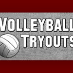 Volleyball Tryouts for High School and Middle School posted