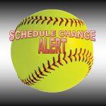 Softball will play TODAY, Monday, 3-5-18