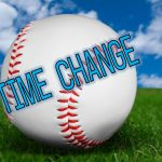 Today's Baseball TIME CHANGE for Today 4/3/18