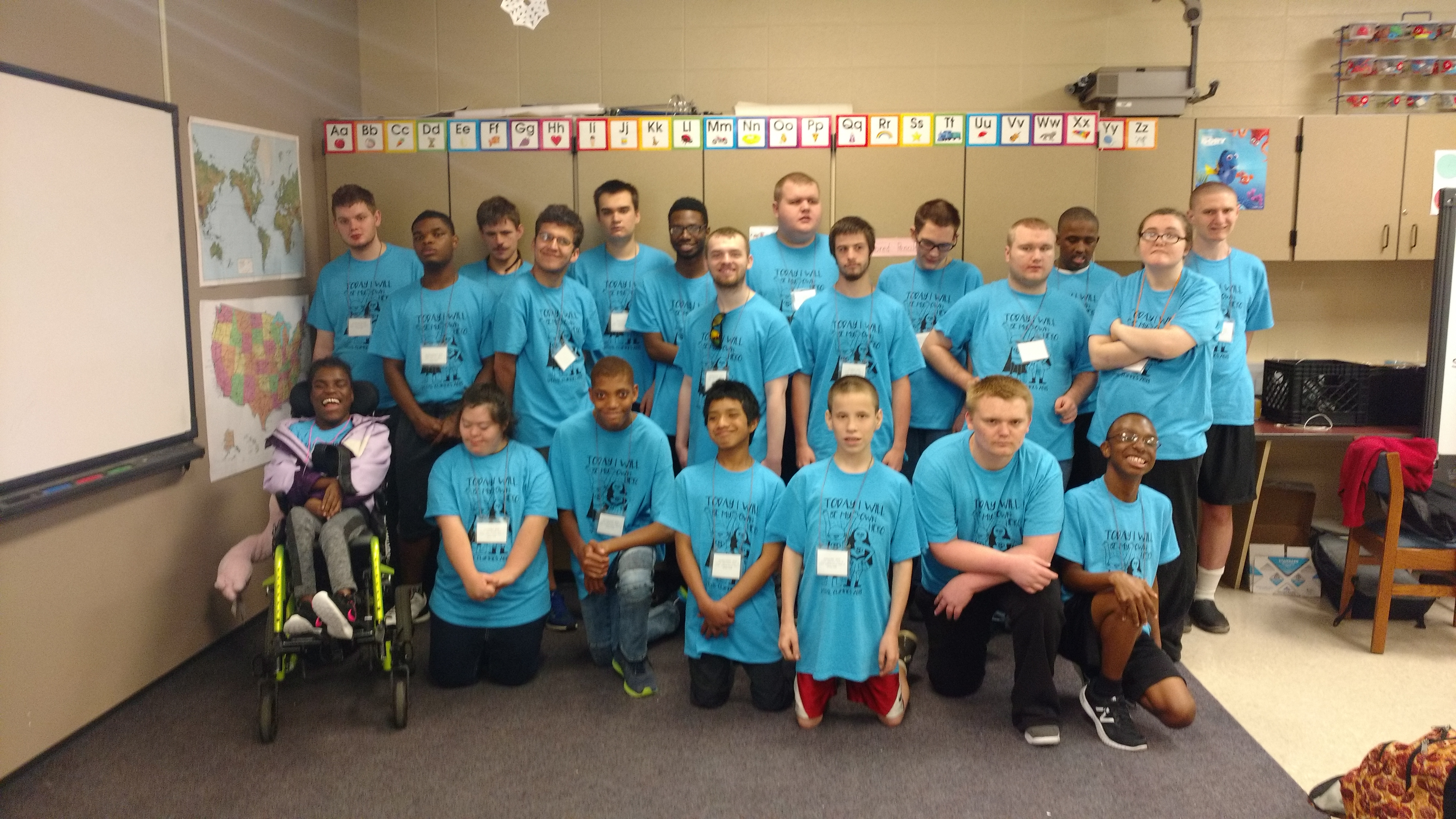Special Olympics…. It was a fantastic day!