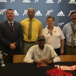 Mykel Woods inks with Huntingdon College