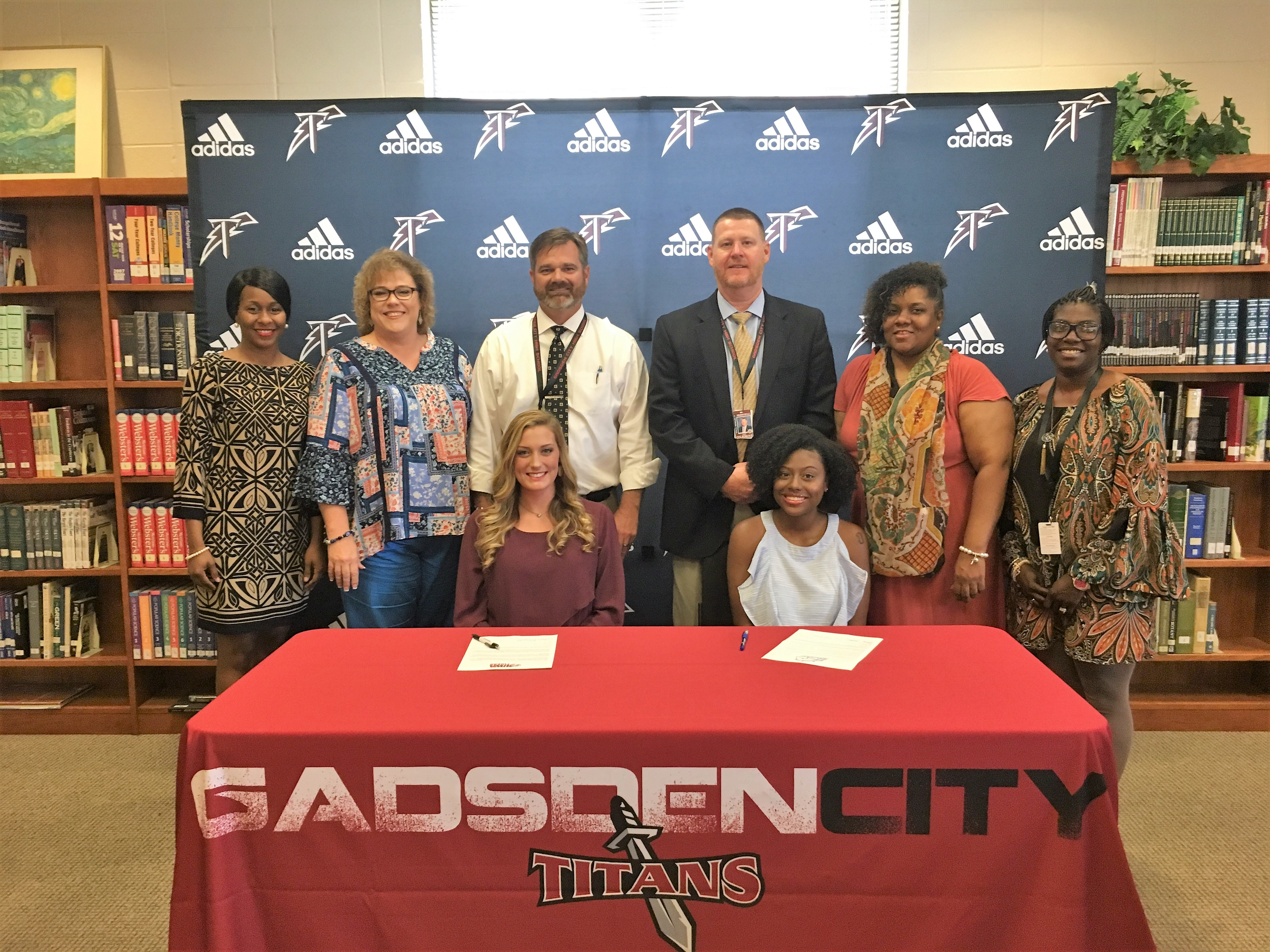 Correll and Crocton receive cheer scholarships