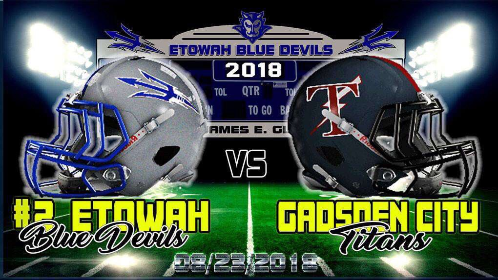 GADSDEN CITY vs. ETOWAH GAME TICKETS.. NOW AVAILABLE