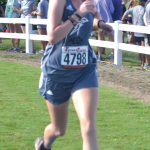 Titan Cross Country's Cat Clements, finishes 8th place at Arab Invitational