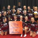 Titan Competition Cheer at ACE City of Champions Competition