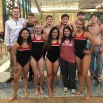 Titan Swimmers at AHSAA 7A Central Sectionals