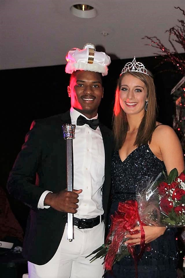 TITAN ATHLETES CROWNED CORO KING AND QUEEN