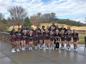 COMPETITION CHEER ~ 3rd place in the Smokey Mountain Classic