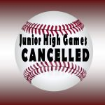 Titan Middle School games are canceled for today