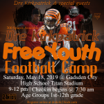 Dre Kirkpatrick Camp Message