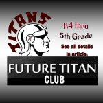 Calling all FUTURE TITANS