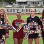 Titan Girls Soccer Senior Night 2019