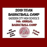 GET SIGNED UP….. 2019 TITAN BASKETBALL CAMP