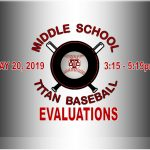 "Gadsden City ""MIDDLE SCHOOL"" Baseball Evaluations"