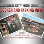 GCHS Locker, Parking and Orientation Information