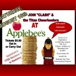 APPLEBEE'S PANCAKES WITH CLASH
