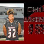 MEET GC's KHALIL MARSHALL ~ # 52