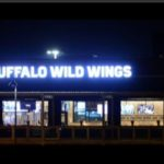 Watch the Titan's game live streamed on the screen from Buffalo Wild Wings