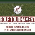 Gadsden City Golf Tourney Set for November 11