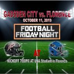 TITAN FOOTBALL · OCT 11 · at FLORENCE