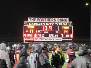 TITANS GET THE WIN FOR HOMECOMING