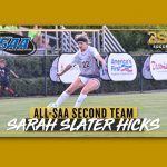 FORMER TITAN, SARAH SLATER HICKS, MAKE ALL-SOUTHERN SOCCER TEAM