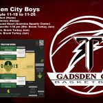 Titan Boys Basketball set to play in Thanksgiving Tournament