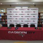 Titan's Gray and Brewer Baseball Signing