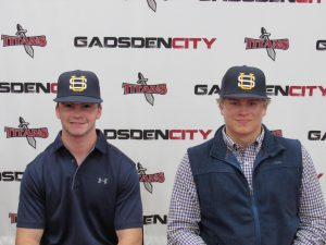 Titan's Gray and Brewer Baseball Signing