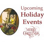GCHS HOLIDAY CALENDAR AND EVENTS