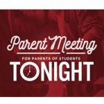 GCHS Rising Freshmen Parent Meeting