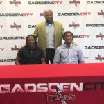 Gadsden City's Embry and Blount inked their scholarships