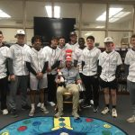 GC Baseball participates in Read Across America Week