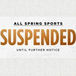 All GCHS Spring Sports are Suspended