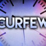 Etowah county sets curfew