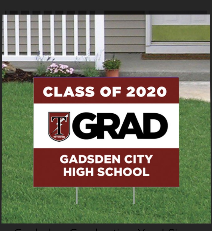 Class of 2020 SENIORS…. Get your sign ordered!