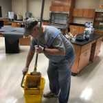GCHS was cleaned and disinfected this week