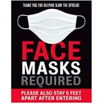 To Enter GCHS, You MUST Wear a Mask