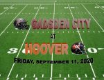 "WATCH GCHS vs. HOOVER LIVE and for ""FREE"""