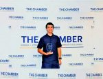 GCHS Cross Country Runner, Enders, Receives Chamber Award