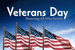 NO SCHOOL in observance of  Veterans Day on November 11, 2020