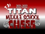 ANNOUNCING THE 2021 TITAN MIDDLE SCHOOL CHEERLEADERS
