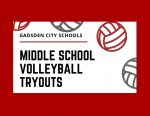 Gadsden City Middle School Volleyball Tryouts Announced
