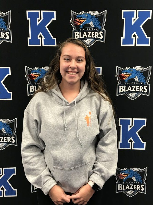 Alaina Fitch Voted October's Athlete of the Month