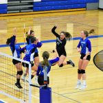 Girls Varsity Volleyball Beats * Harbor Springs HS 3 – 0