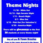 Basketball Theme Nights